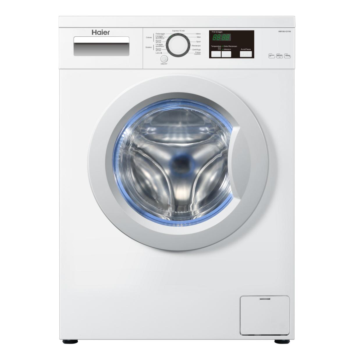Lavatrice haier hw100 1211n caratteristiche lavatrice - Lavatrice altezza 75 ...