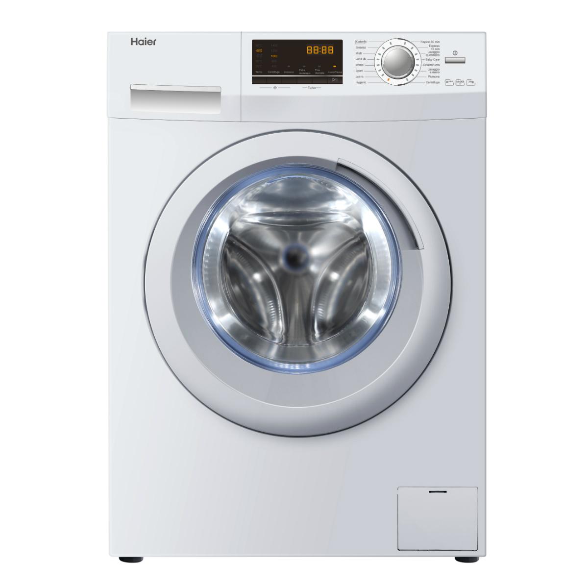 Lavatrice haier hw70 14636 caratteristiche lavatrice for Peso lavatrice