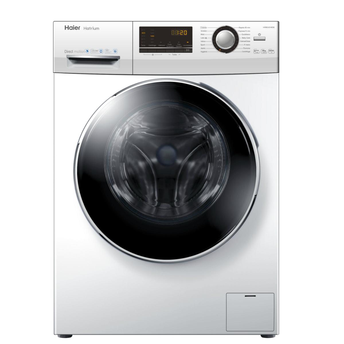 Lavatrice haier hw80 b14636 caratteristiche lavatrice - Lavatrice altezza 75 ...