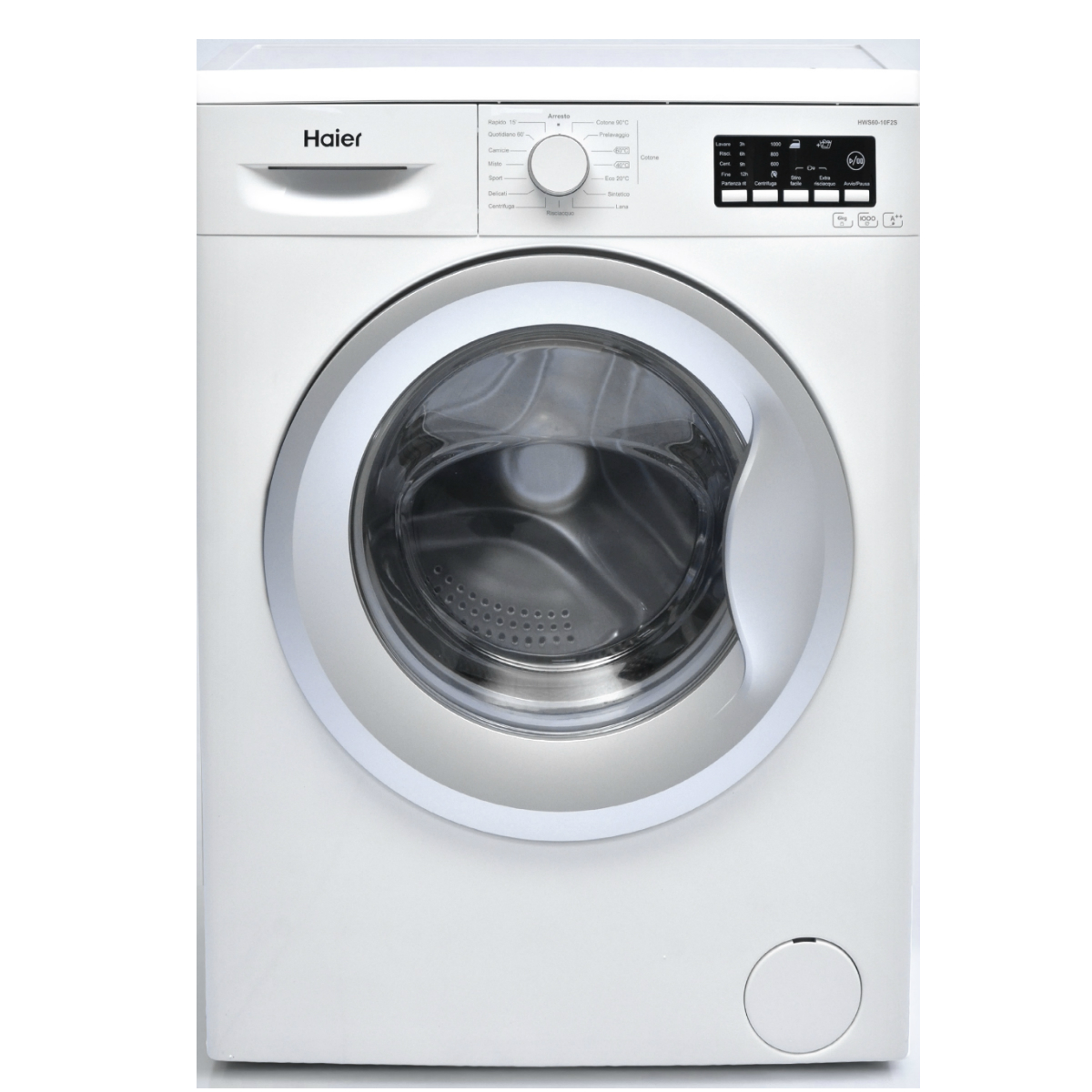 Lavatrice haier hws60 10f2s caratteristiche lavatrice for Peso lavatrice
